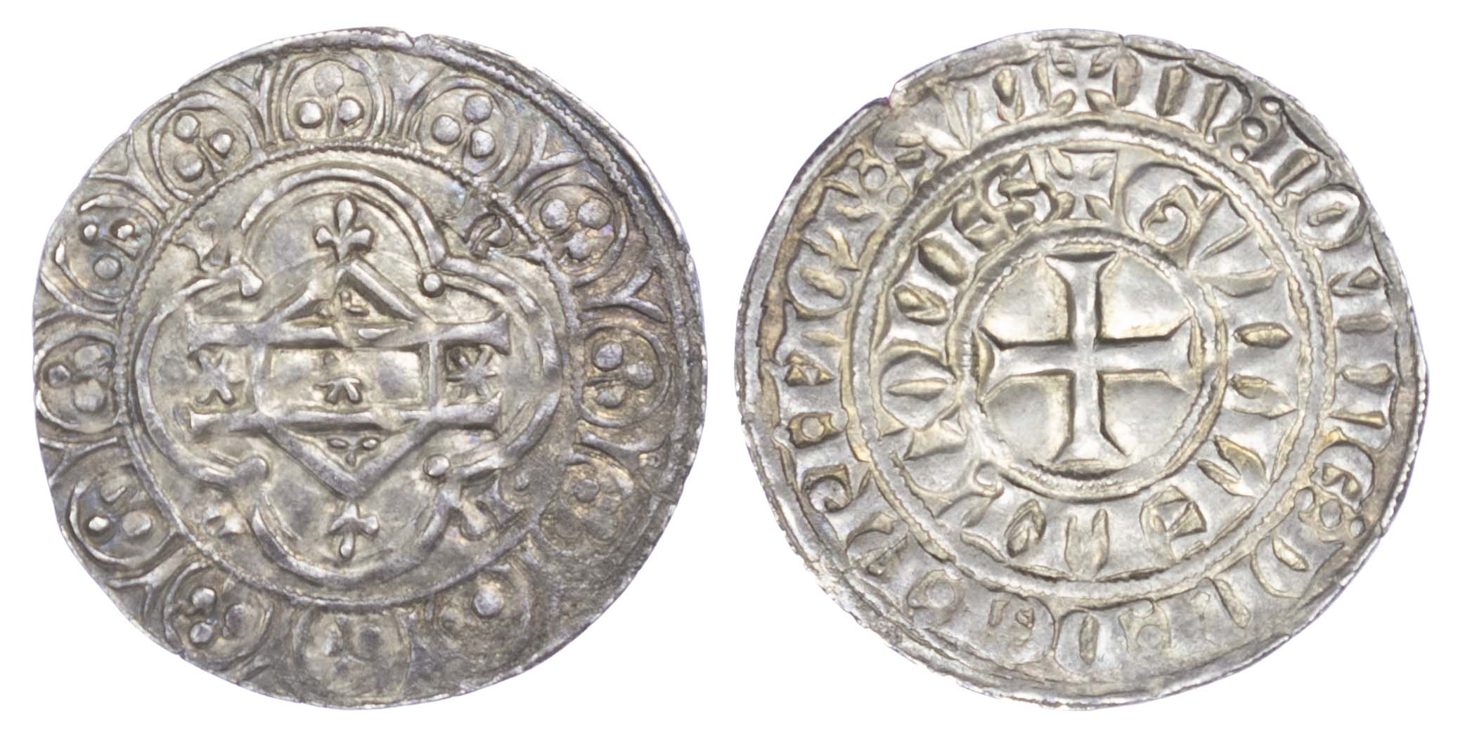 Low Countries, Hainaut, Guillaume I (1304-1337), Petit Gros