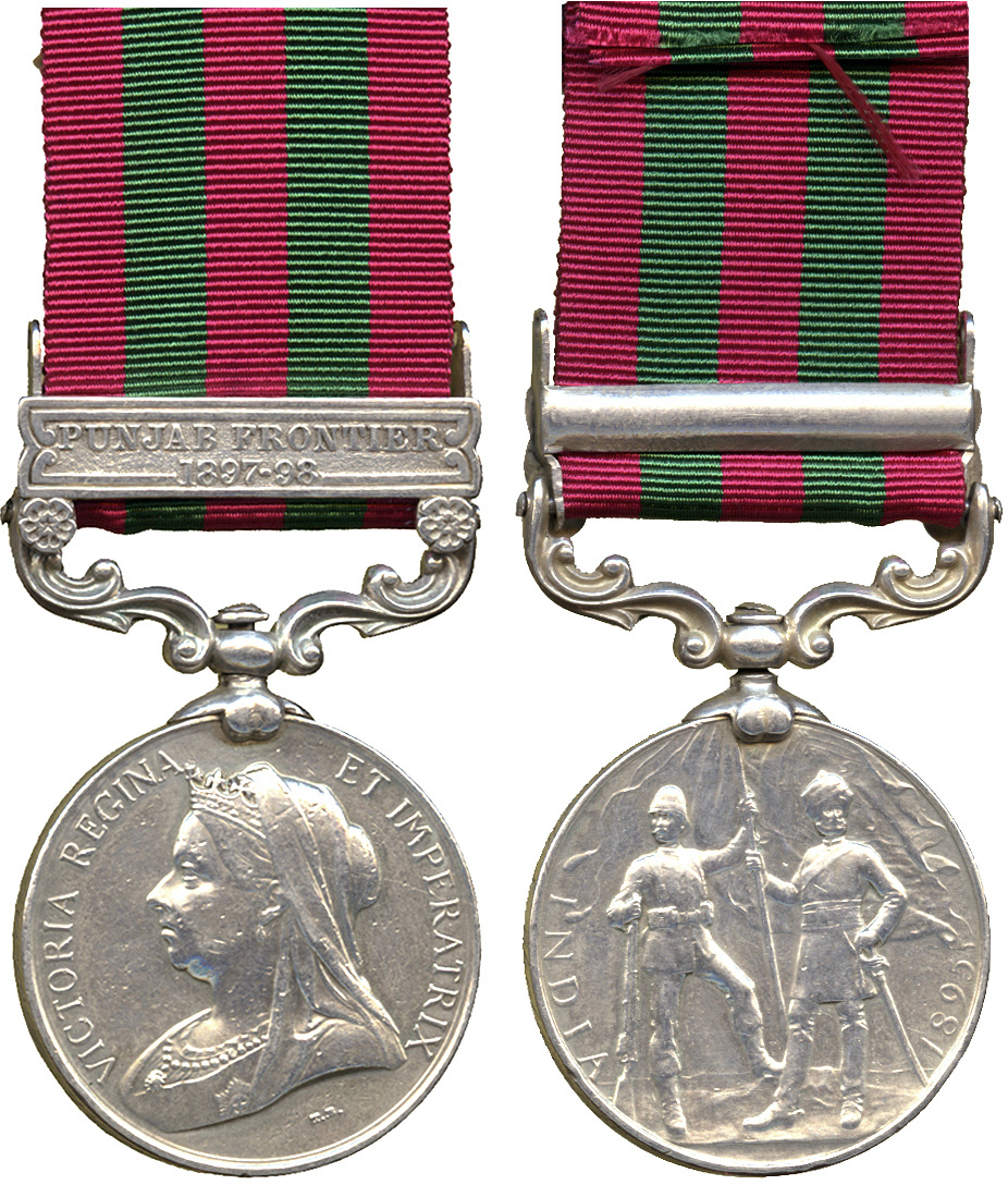 India General Service Medal to Pte  J  Chalmers