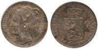 Netherlands, Wilhelmina, Gulden, 1898