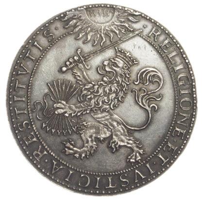James I, Synod of Dort, Silver Medal, 1619