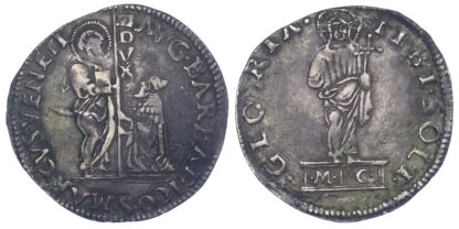 Italy, Venice, Agostino Barbarigo, Silver Mocenigo or Lira