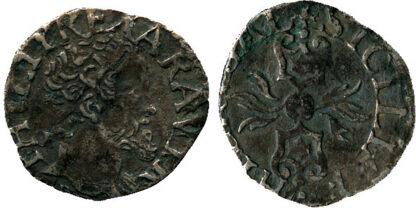 Italy, Naples, Philip II of Spain, Silver Grano