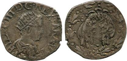 Italy, Naples, Philip III of Spain, Silver 1/2 Carlino