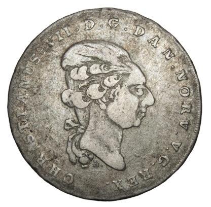 Denmark, Christian VII (1766-1808), Speciedaler, 1799