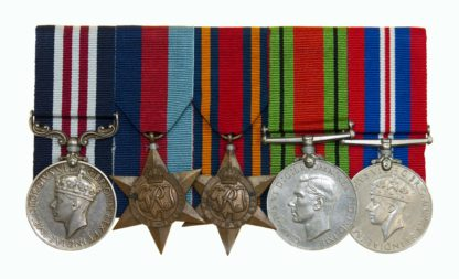 Dunkirk Escapers Military Medal Group of 5 to W.R. Jewitt