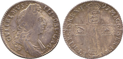 William III, Shilling, 1697