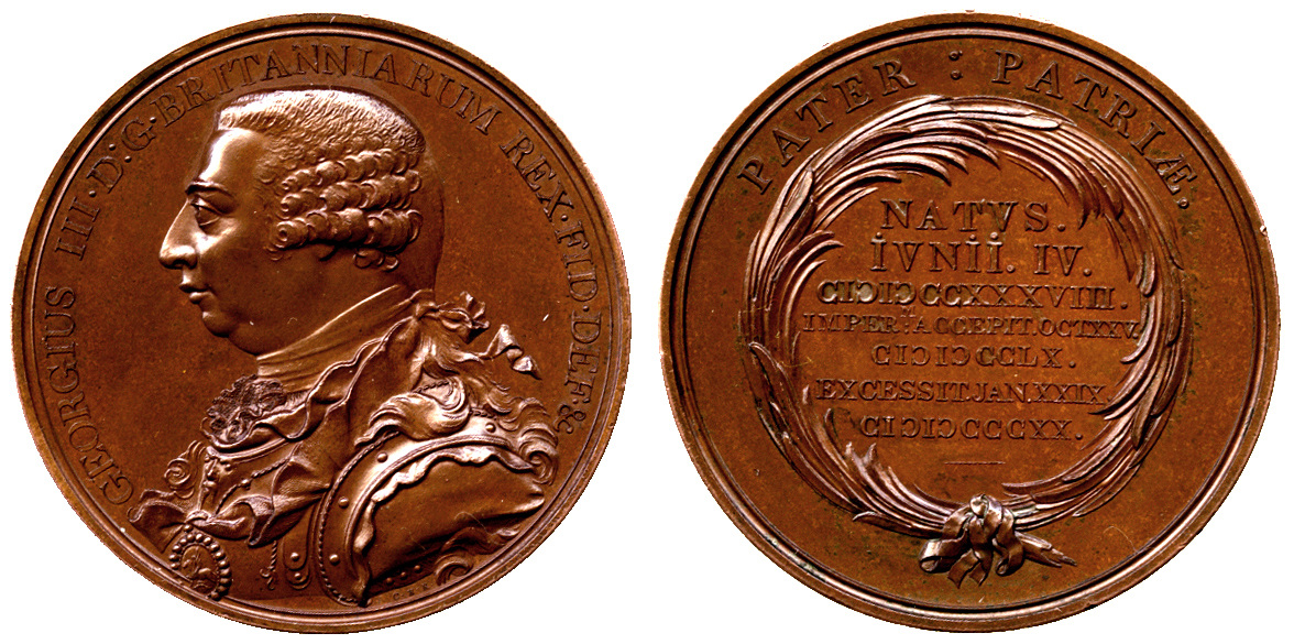George IV, Whitby, Union Medal, 1857