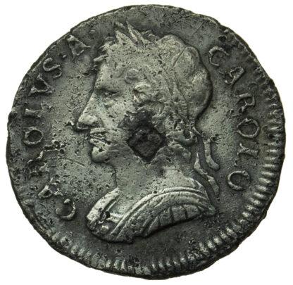 Charles II, Tin Farthing, 1684