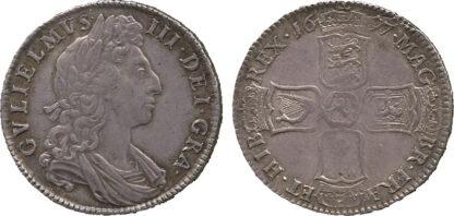 William III, Halfcrown, 1697