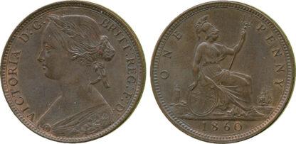 Victoria, Penny, 1860