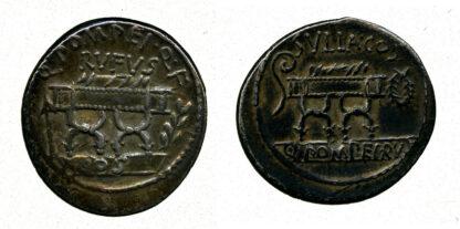 Q. Pompeius Rufus, Silver Denarius