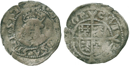 Henry VIII, Posthumous Issue, Penny, Canterbury