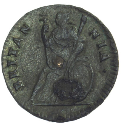 Charles II, Tin Issue Farthing, 1684
