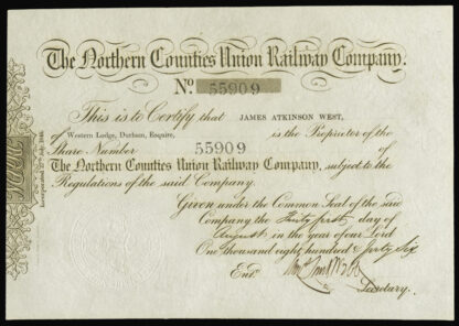 Great Britain, British Railway Share Certificates (2)