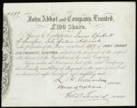 Great Britain, Share Certificates (2)