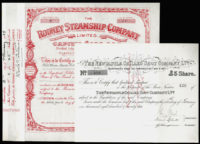 Great Britain, Industry Share Certificates (2), £5 Share