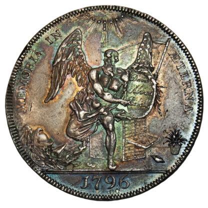 Hackney, David Rebello, Proof Silver Penny Token, 1796