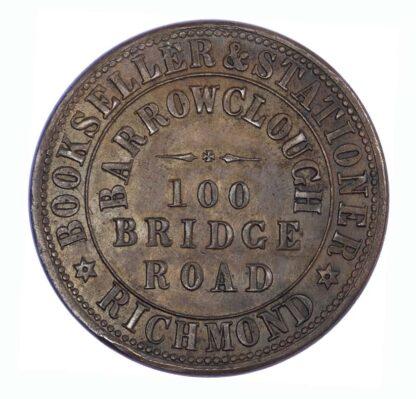 Australia, Victoria, Penny Token, 1862