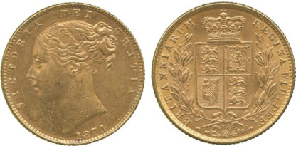 Victoria, Sovereign, 1871
