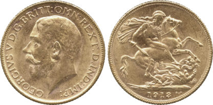 George V, Sovereign, 1913