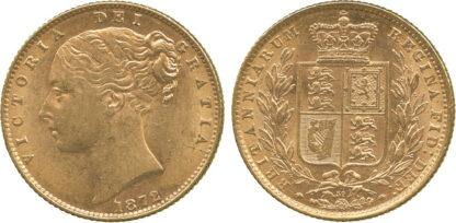 Victoria, Sovereign, 1872