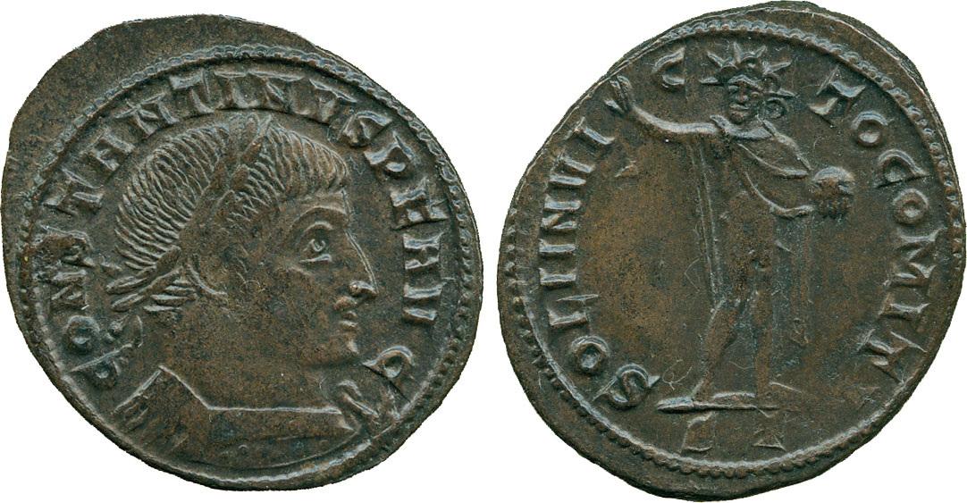 Constantine I, Bronze Follis