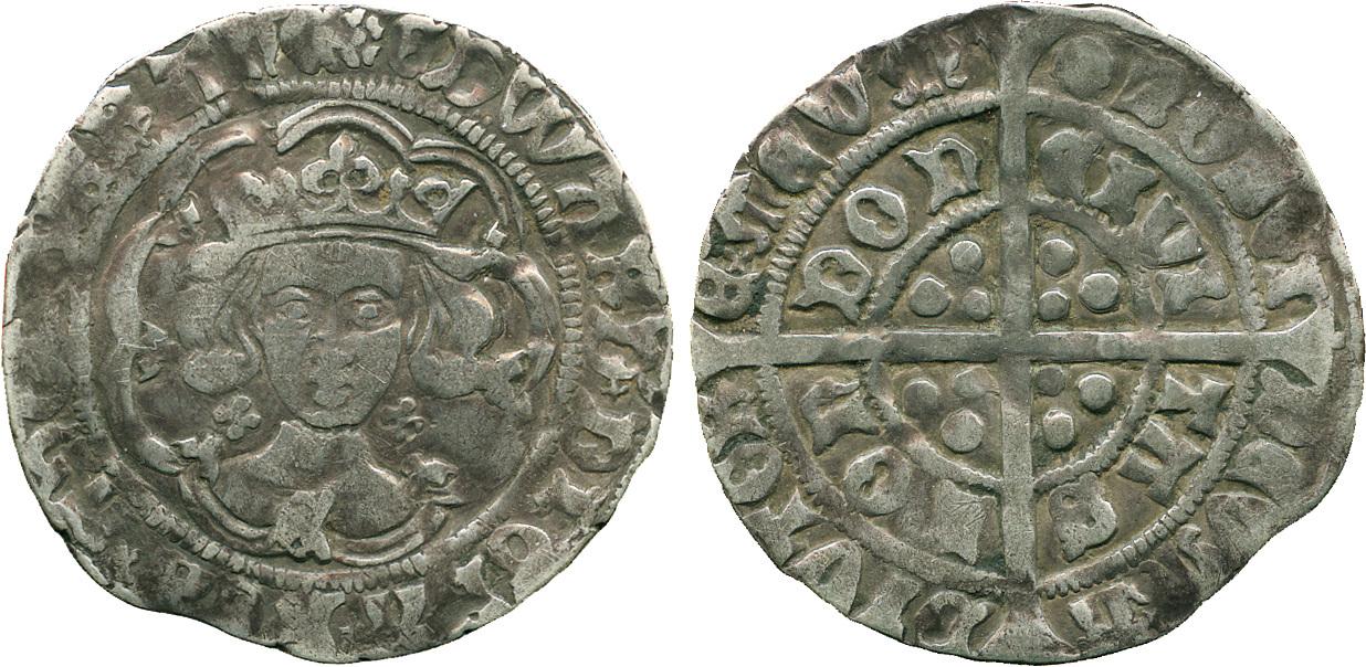 Edward IV, Groat, London