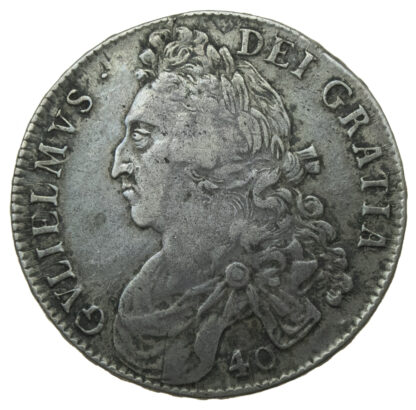 Scotland, William II, Forty Shillings, 1695