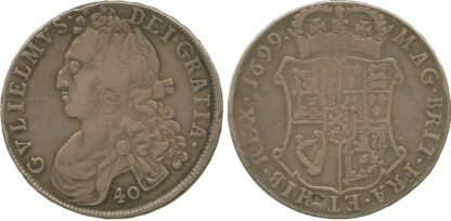 Scotland, William II, Forty Shillings, 1699