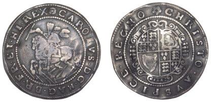 Charles I, Halfcrown, Exeter, 1642