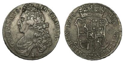 Scotland, William II, Forty Shillings, 1698