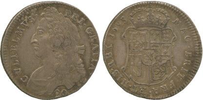 Scotland, William II, Twenty Shillings, 1695