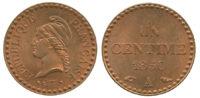 France, Essai, 1 Centime, 1850