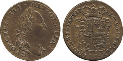 George III, Copper Pattern Guinea, 1781