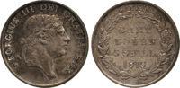 George III, Three Shilling Bank Token, 1813
