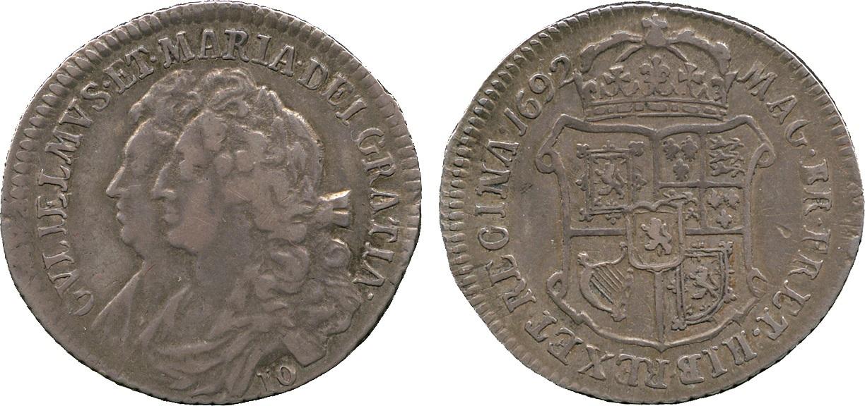 Scotland, William & Mary, Ten Shillings, 1692