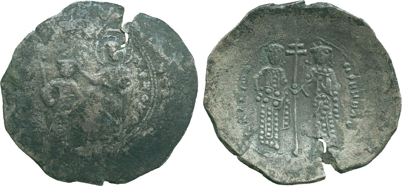 Alexius I, Billon Trachy