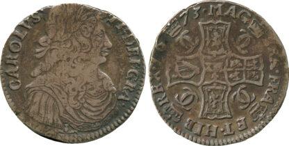 Scotland, Charles II, Merk, 1673