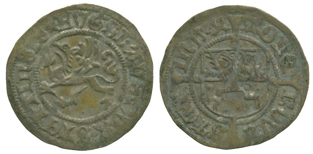 Poland, Pomerania, Stettin, Boguslav X, Silver Szelag, 1504