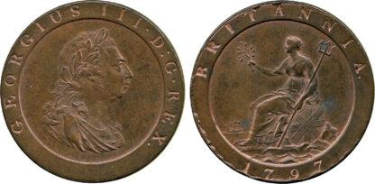 George III, Penny, 1797
