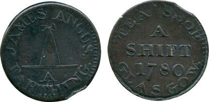 Scotland, Glasgow, Farthing Token, 1780