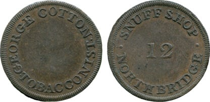 Scotland, Edinburgh, Farthing Token, c.1780