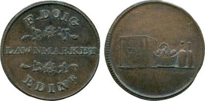 Scotland, Edinburgh, Farthing Token, c.1780