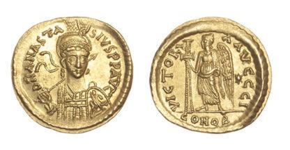 Anastasius, Gold Solidus