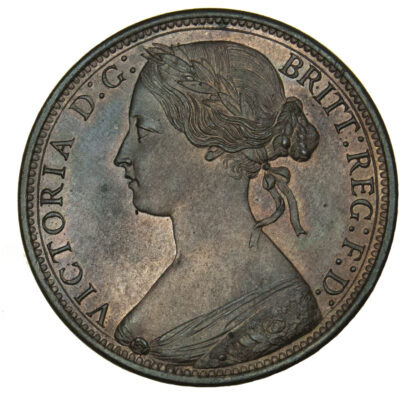 Victoria, Proof Penny, 1868