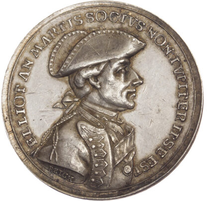 George III, The Relief of Gibraltar, 1783, Silver Medal