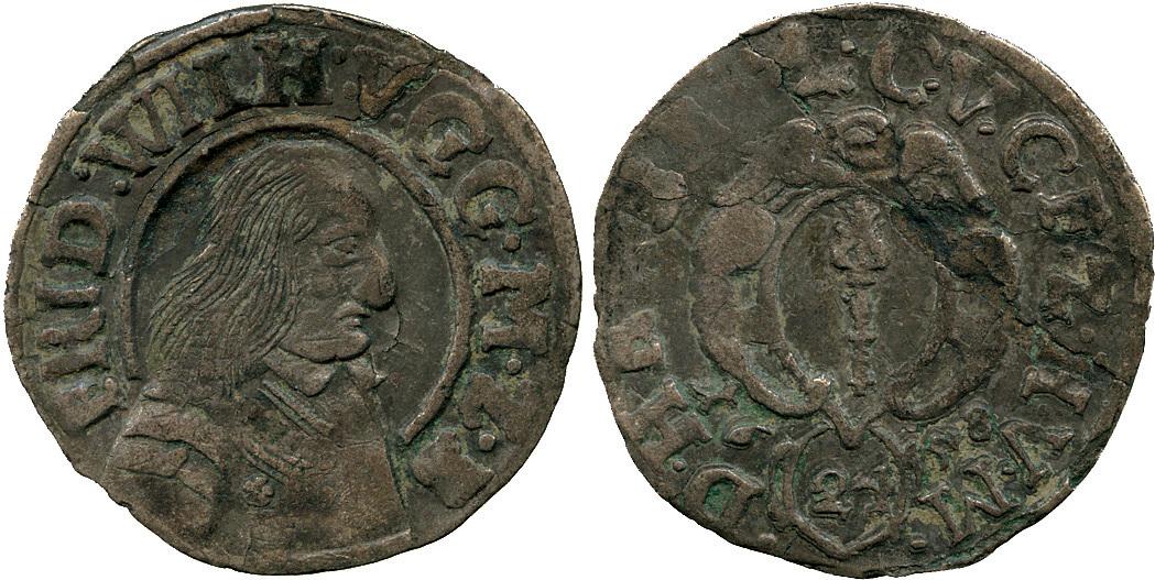 Germany, Brandenburg-Prussia, Friedrich Wilhelm, 1/24 Taler