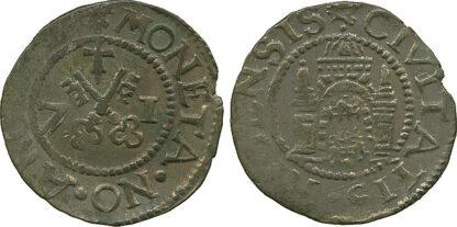 Poland, Riga, City, Silver Szelag, 1571