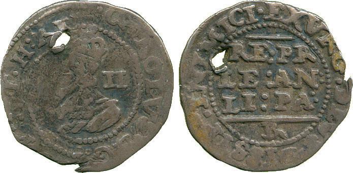 Charles I, Halfgroat, Bristol