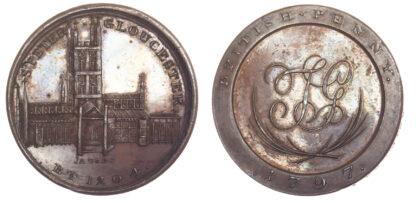 Gloucester, Skidmore, Penny Token, 1797